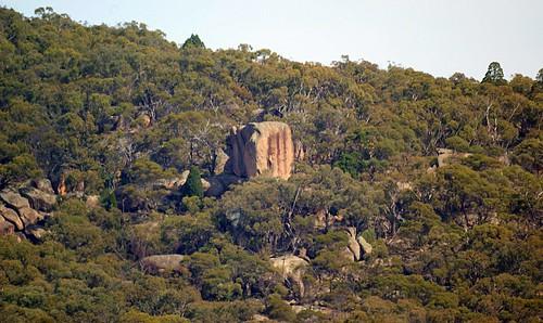 Prominent granite feature