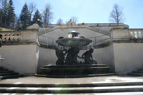 Najadenbrunnenbrunnen - Schloss Linderhof