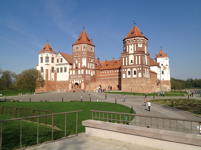 Mir Castle - typical Belarussian new built castle on historic ground