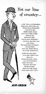 1960 Air India ad