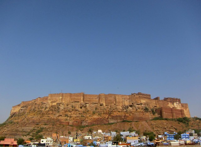 Fort at day. Jodhpur, India