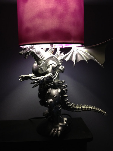 Custom Mecha Godzilla Lamp