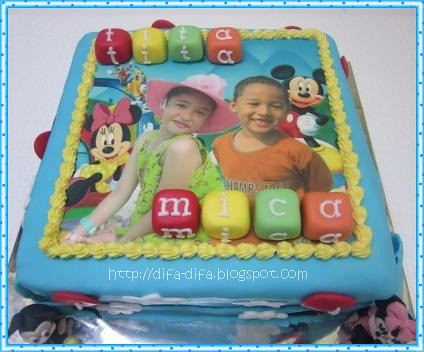 Disney Cake for Tita n Mica by DiFa Cakes