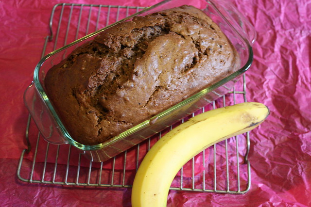 Chocolate Banana Bread 15