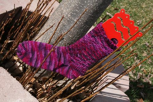 Woven Socks 026