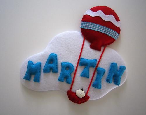♥♥♥ A nuvem do Martin ... by sweetfelt \ ideias em feltro