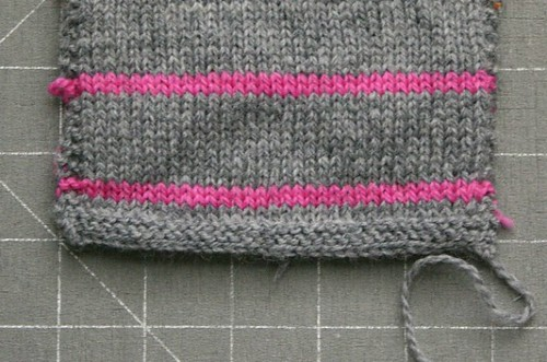 swatch for Paulie cardigan