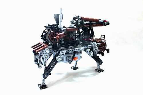 Steampunk Walker Crane