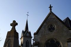 Vauchelles-les-Quesnoy (monument-aux-morts et église) 1166