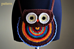 Crochet Owl Purse - Pattern