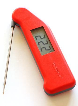 Thermapen in red 3939 R