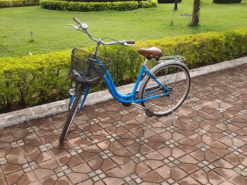 ホテルのレンタル自転車