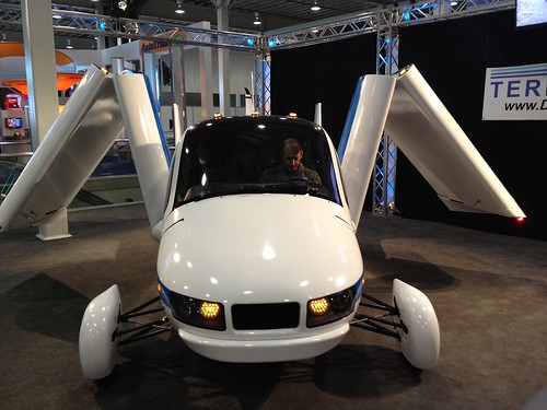 The terrafugia Flying Car @ the 2012 New York Internatioanl Auto Show