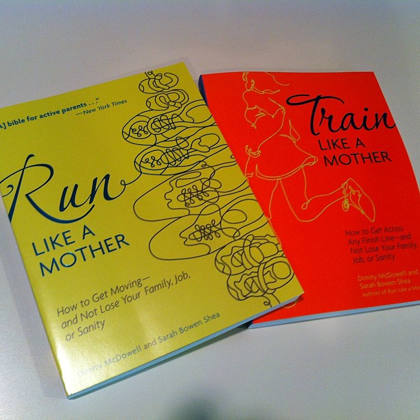 A little #running reading came in the mail today. Another Mother Runner cc: @sbsontherun @dimityontherun #motherrunners