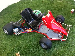 Crazy Al's Electric go-kart