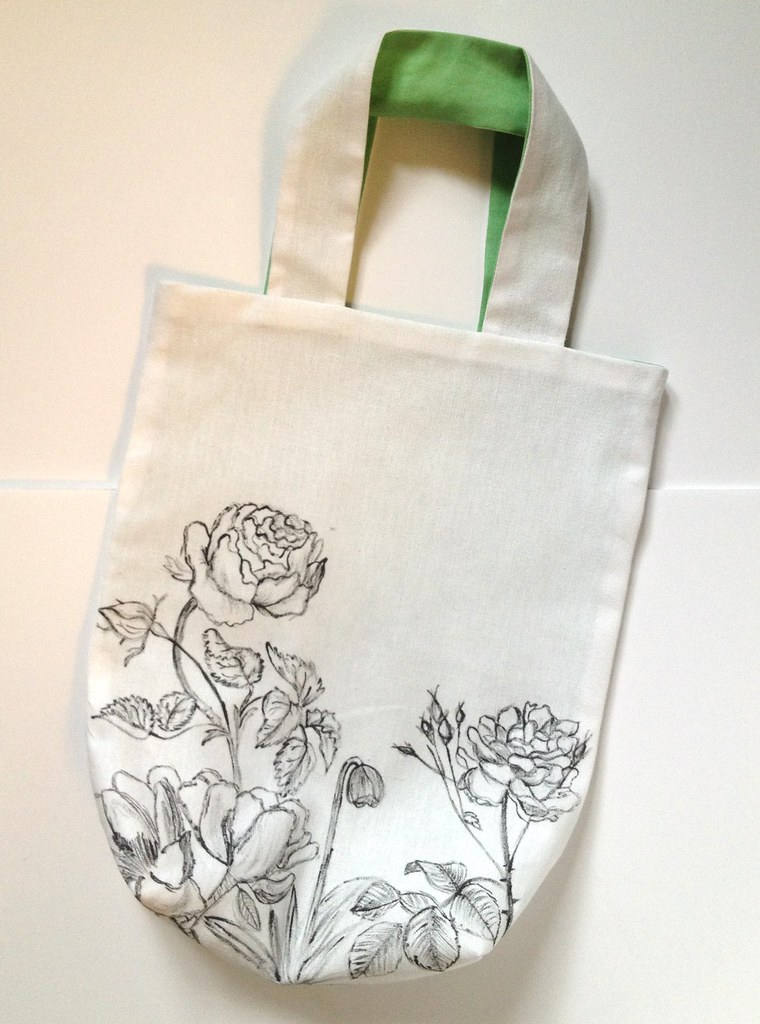 18 - Botanic Sketch Tote Bag Tutorial