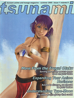Tsnunami fanzine 1-9