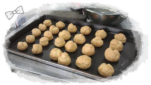 老師們吃的泡芙