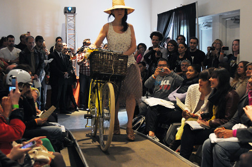 New Amsterdam Bicycle Fashion Show 2012