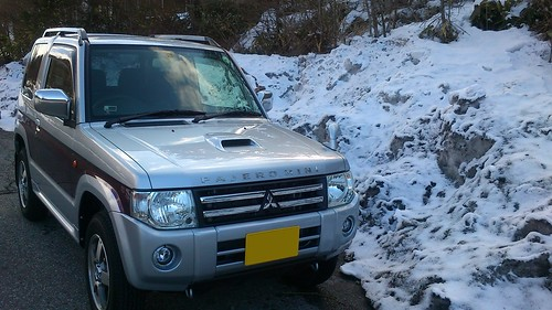 中山道はちょい残雪