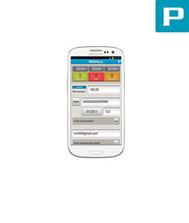 Samsung Galaxy S III Credit Card Processing App