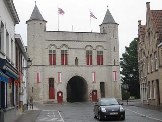 Billede af Kruispoort. brugge bruges kruispoort