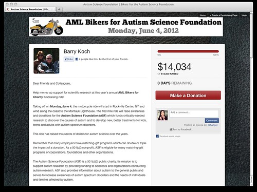 Autism Science Foundation | Bikers for the Autism Science Foundation