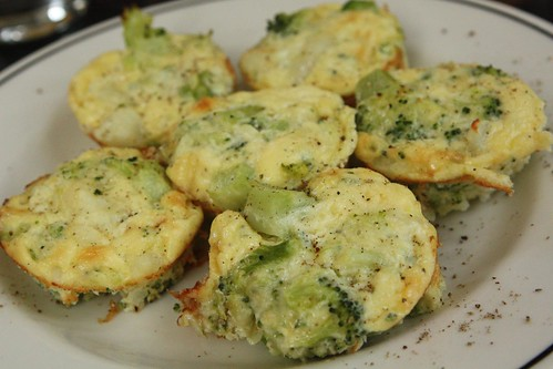 Broccoli Fontina Potato Cakes