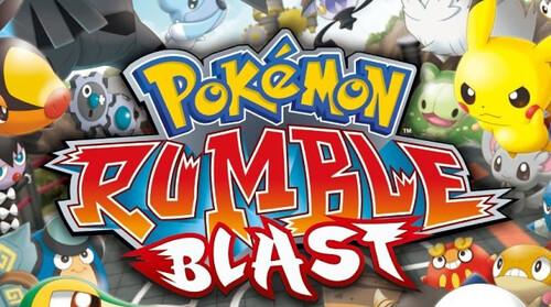 Pokemon Rumble Blast - banner