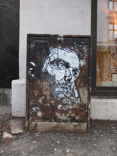 Work by C215