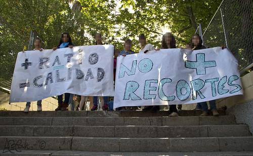 Manifestación IES by Bakalito (Antonio Benítez Paz)