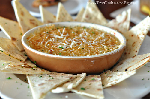 Artichoke Dip at Manitou Station ~ White Bear Lake, MN