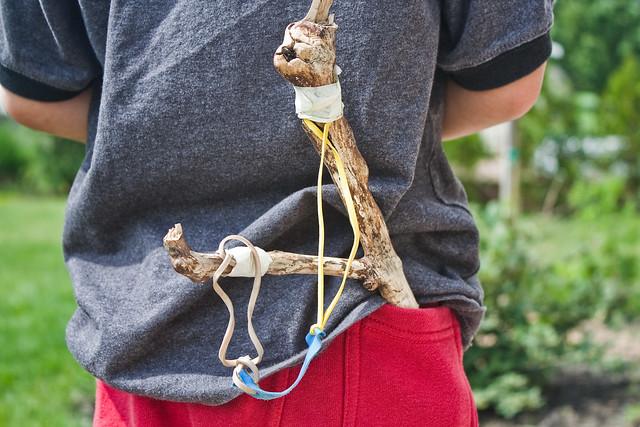 Make a slingshot