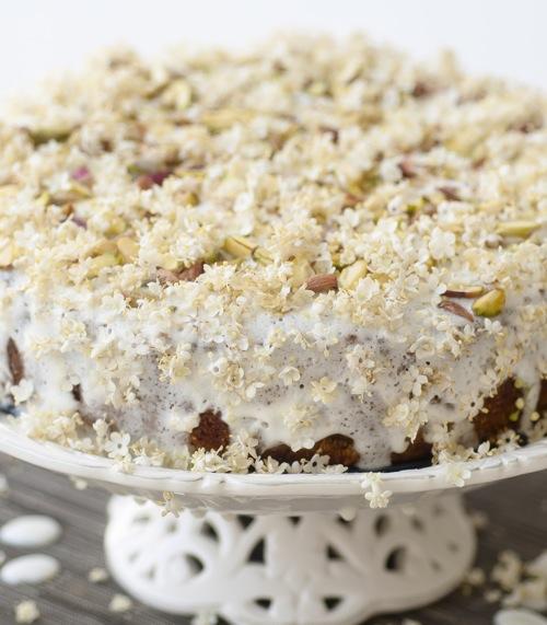 Lovely sunshine cake prajitura cu flori de soc si fistic for Cu ci na roma