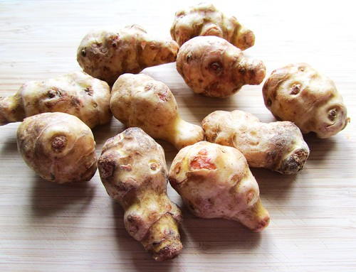 Jerusalem Artichokes for Soup