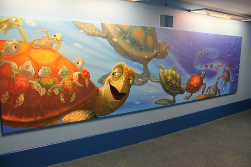 Finding Nemo hallway at Disney's Art of Animation Resort