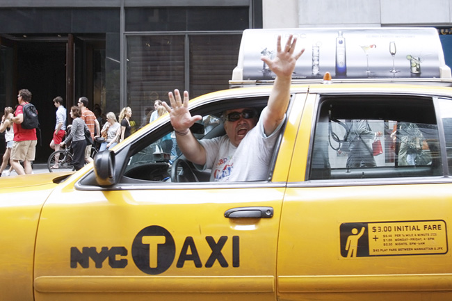 Taxi Driver, nyc