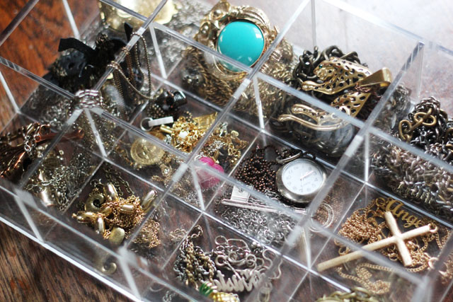 my jewellery box collection