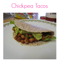 MEAL ICON chickpea tacos