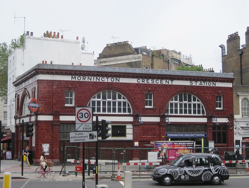 Mornington Crescent tube station