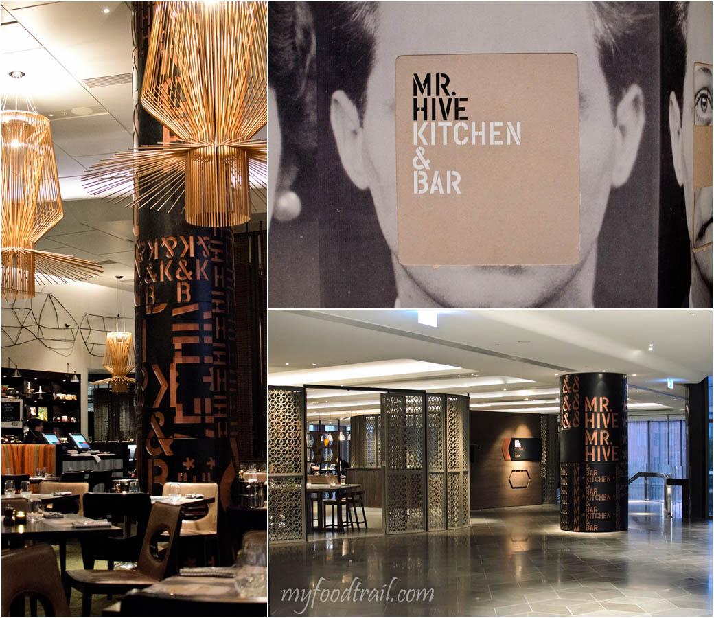 Mr Hive Kitchen & Bar - Inside & Outside