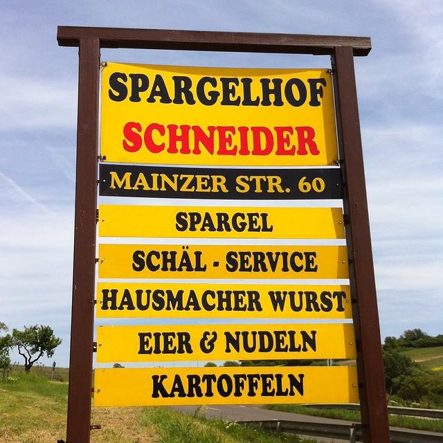 Spargelhof Schneider