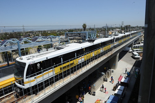 Expo Line Phase I Opening at La Cienega/Jefferson Station