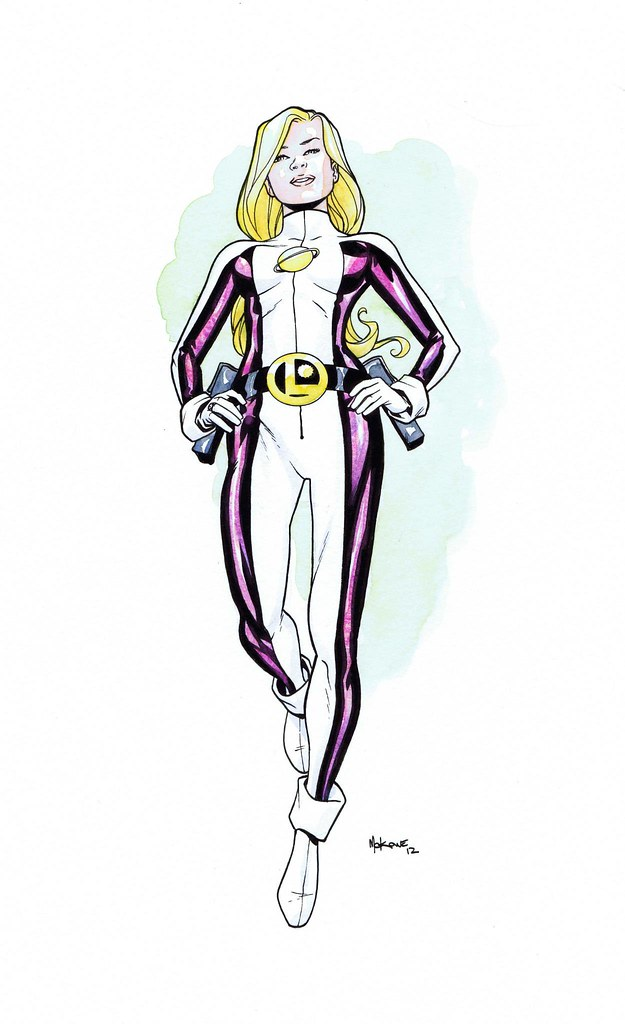 Saturn Girl by Mike McKone