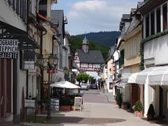 In der Altstadt von Königstein