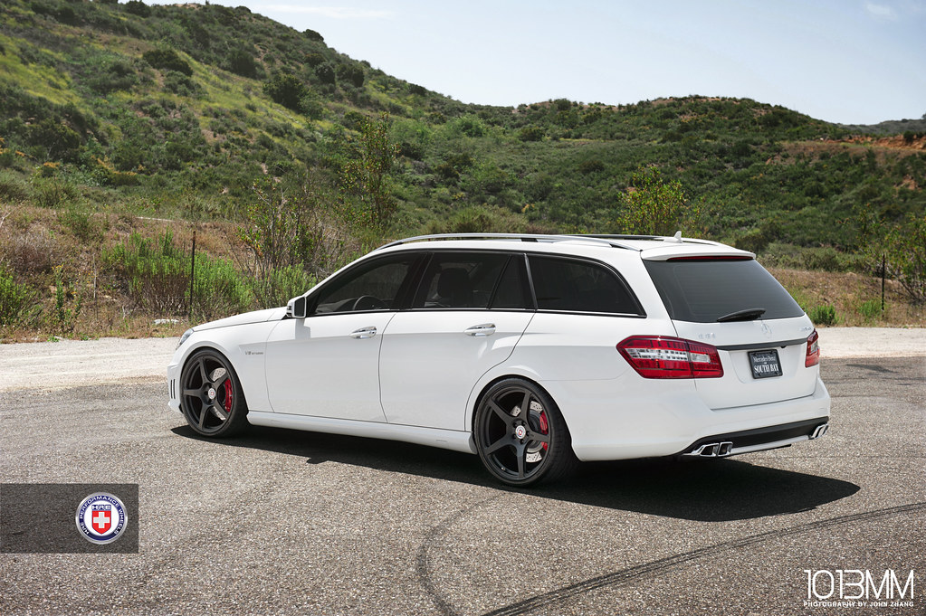 HRE Mercedes Benz AMG E63 Wagon & AMG CLS63
