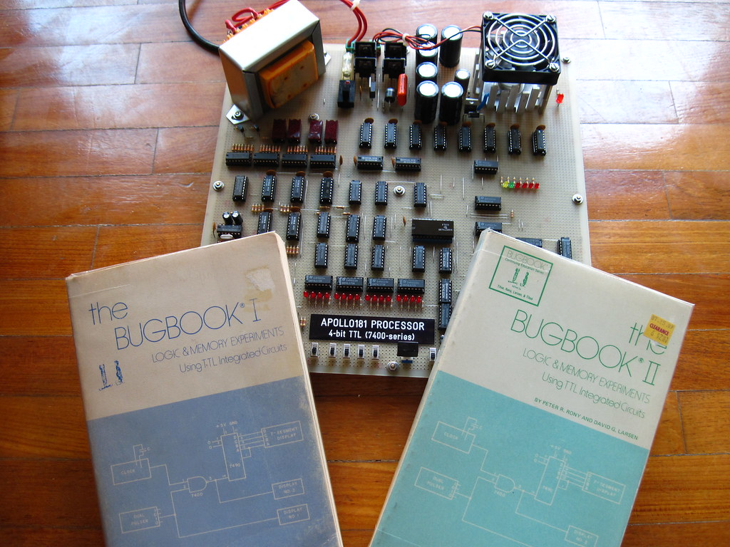 Flickr Photos Tagged Bugbook Picssr Ttl Integrated Circuit Apollo181 Homemade Cpu A Tribute To The
