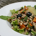 Barley Breakfast Salad with Butternut Squash and Blueberies