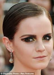 Emma Watson Smokey Eyes Celebrity Style Women's Fashion