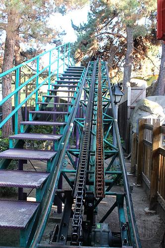Bug-sized roller coaster
